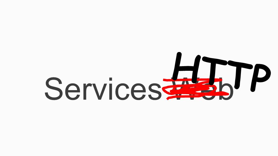Services Web HTTP