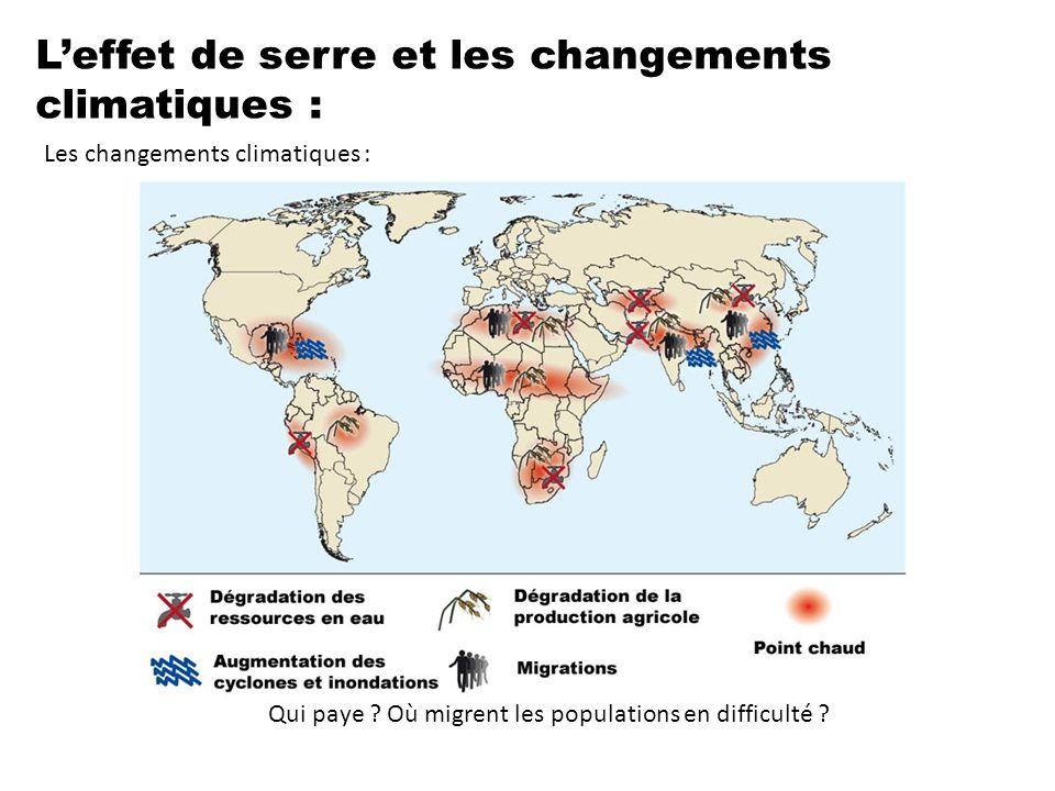 Qui paye Où migrent les populations en difficulté