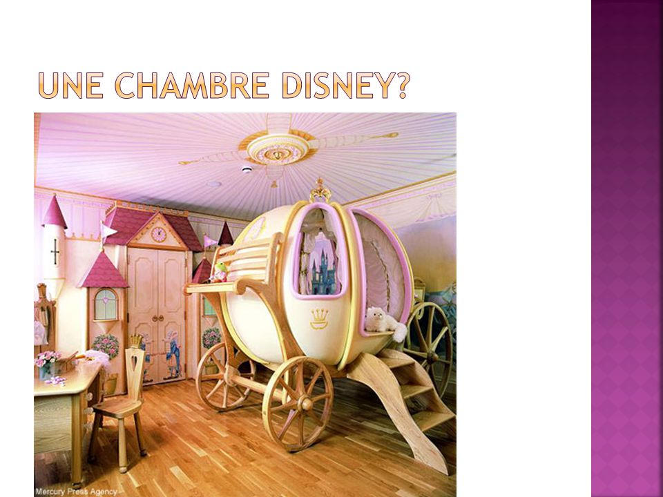Une chambre Disney