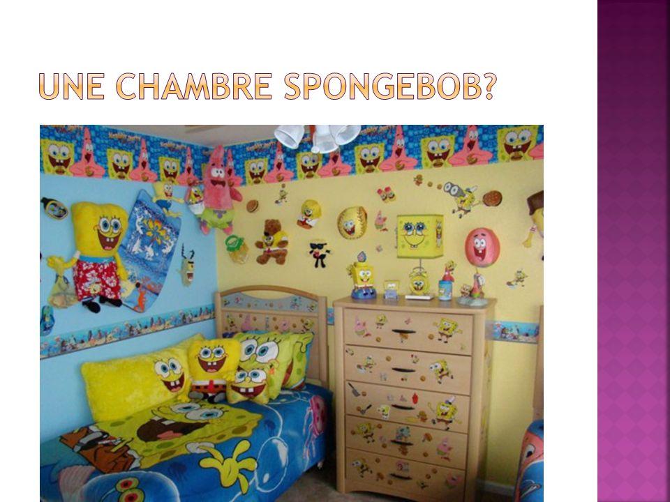Une chambre Spongebob