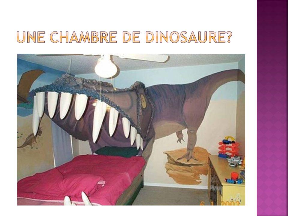 Une chambre de dinosaure
