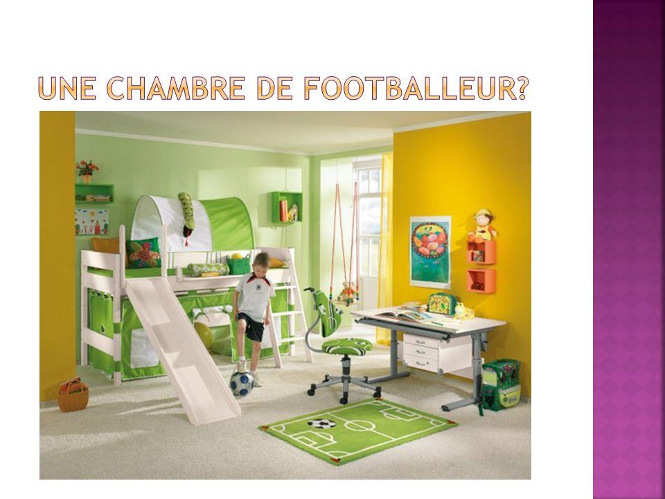 Une chambre de Footballeur