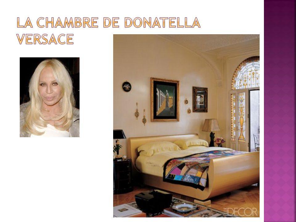 La chambre de Donatella Versace