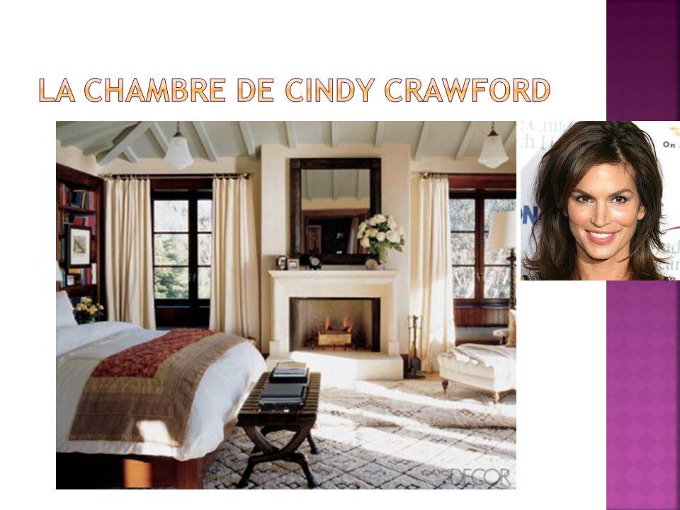 La chambre de Cindy Crawford