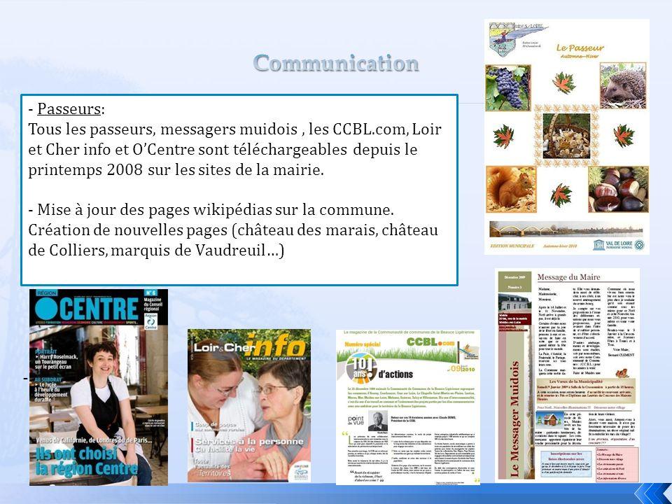 Communication - Passeurs: