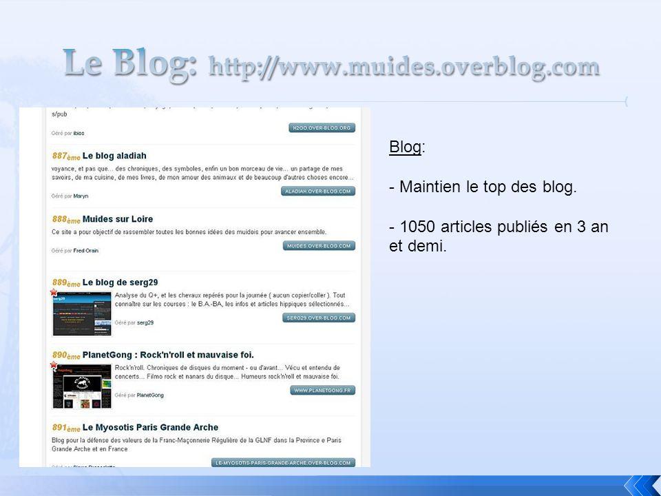 Le Blog: http://www.muides.overblog.com