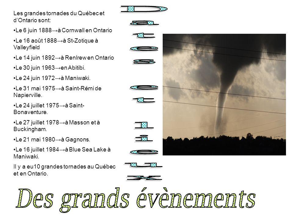 Dates et lieux Des grands évènements