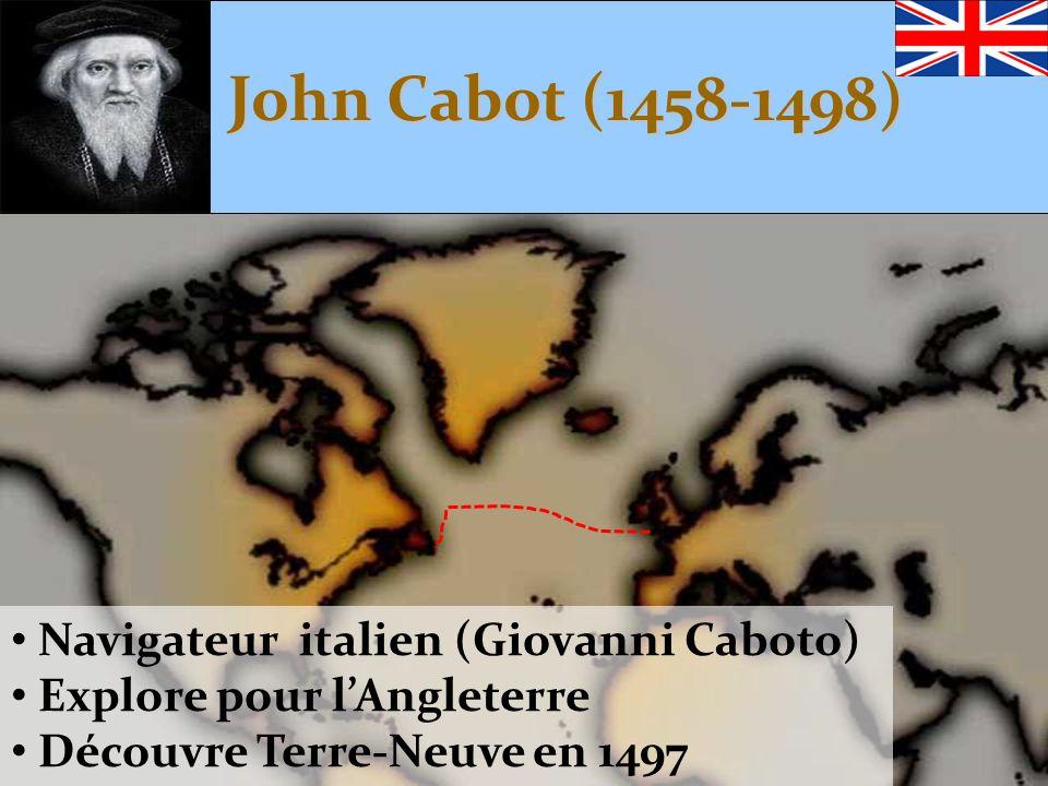John Cabot (1458-1498) Navigateur italien (Giovanni Caboto)