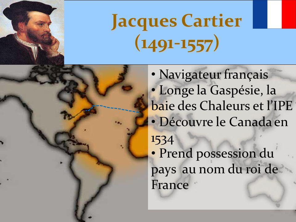 Jacques Cartier (1491-1557) Navigateur français