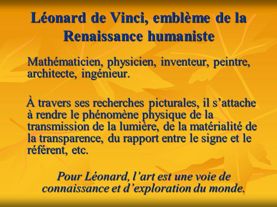 Léonard de Vinci, emblème de la Renaissance humaniste