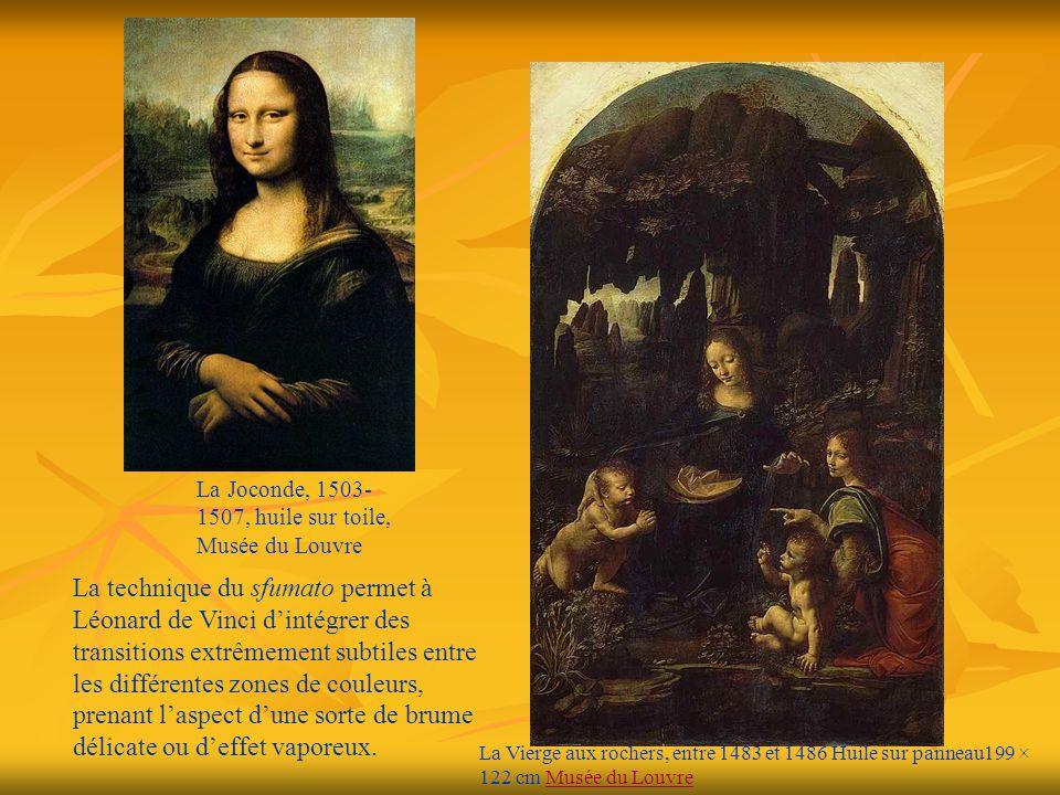 La Joconde, 1503-1507, huile sur toile, Musée du Louvre