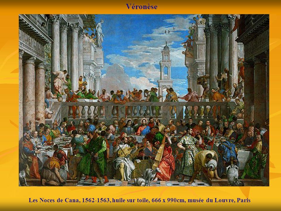 Véronèse Les Noces de Cana, 1562-1563, huile sur toile, 666 x 990cm, musée du Louvre, Paris
