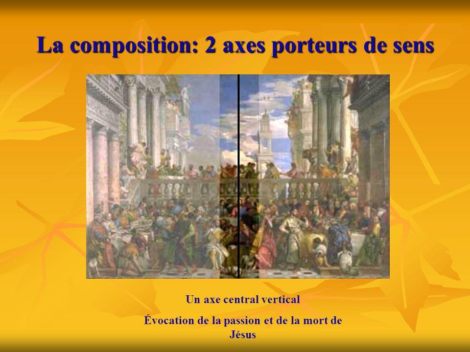 La composition: 2 axes porteurs de sens