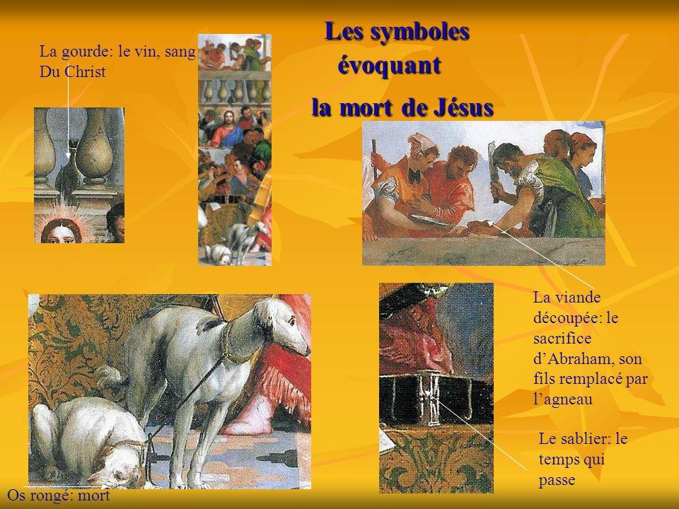 Les symboles évoquant la mort de Jésus