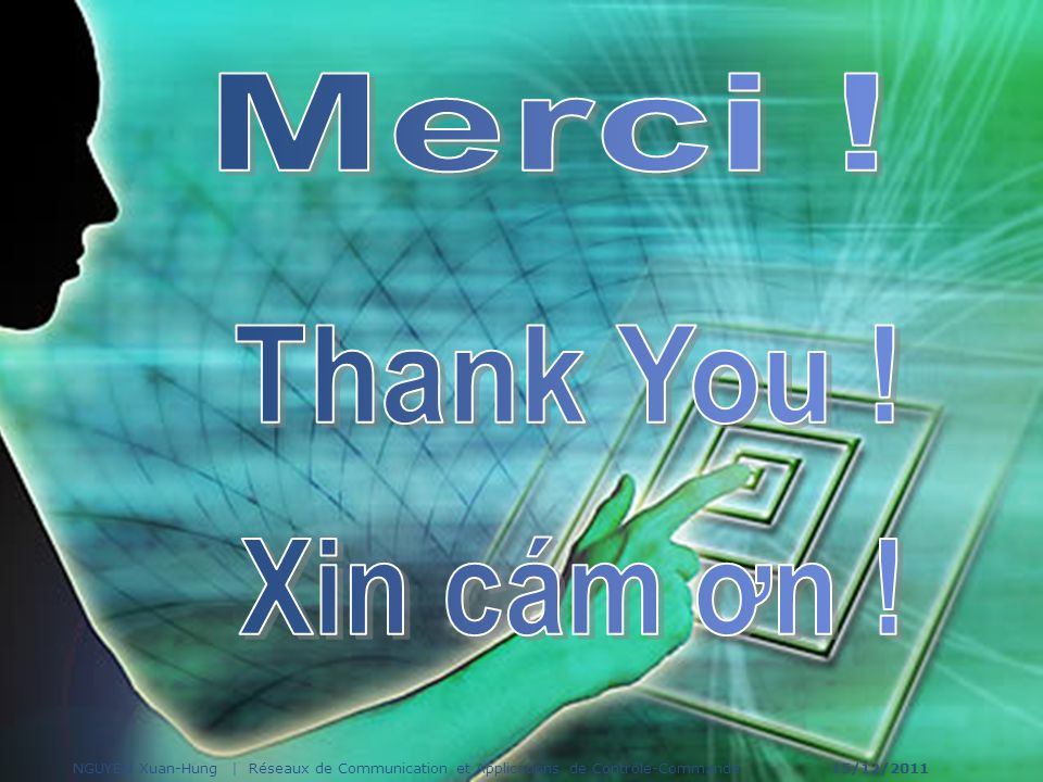 Merci ! Thank You ! Xin cám ơn !
