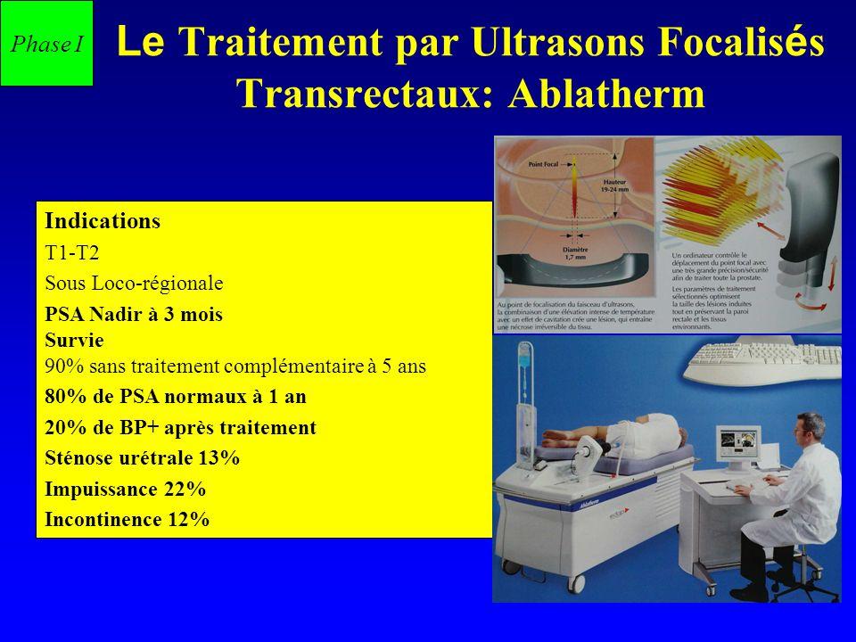 Le Traitement par Ultrasons Focalisés Transrectaux: Ablatherm