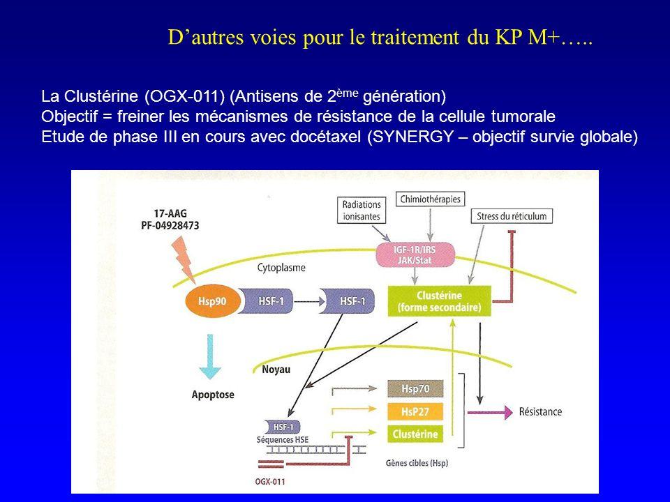 D'autres voies pour le traitement du KP M+…..