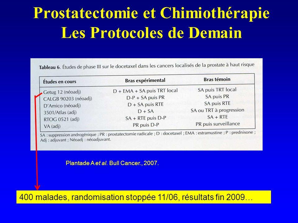 Prostatectomie et Chimiothérapie Les Protocoles de Demain
