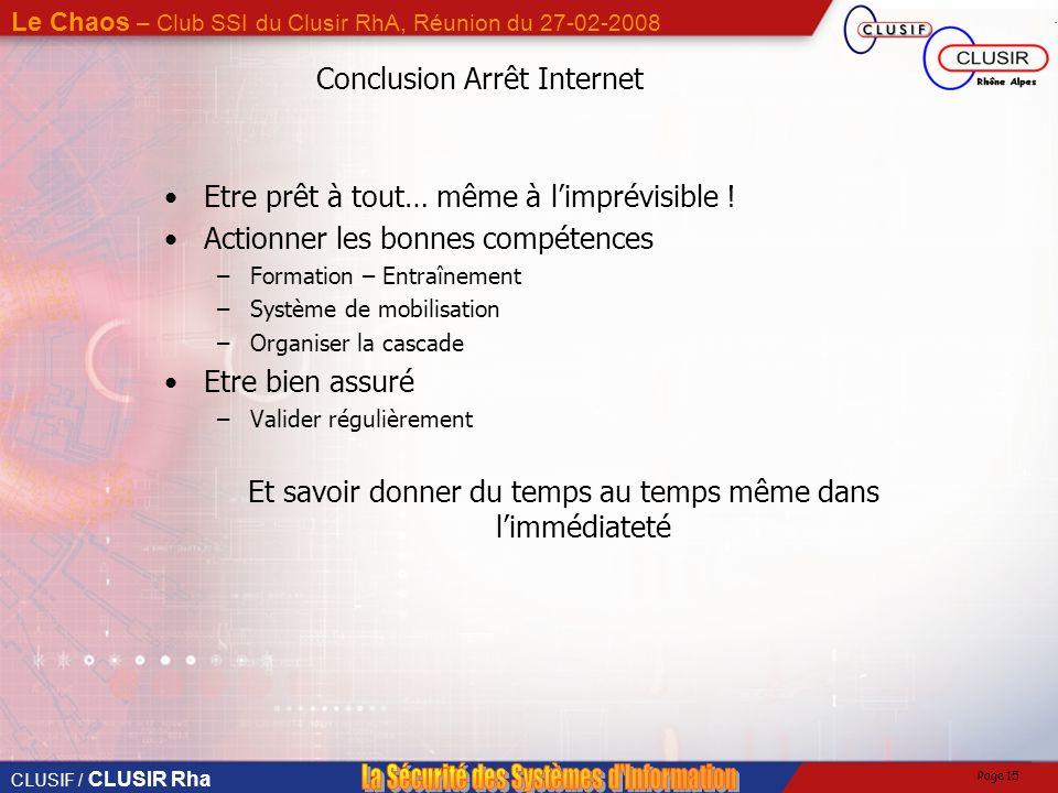 Conclusion Arrêt Internet