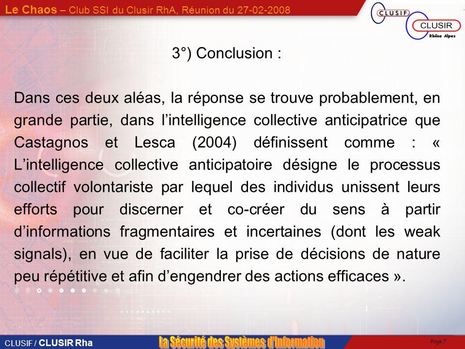 3°) Conclusion :