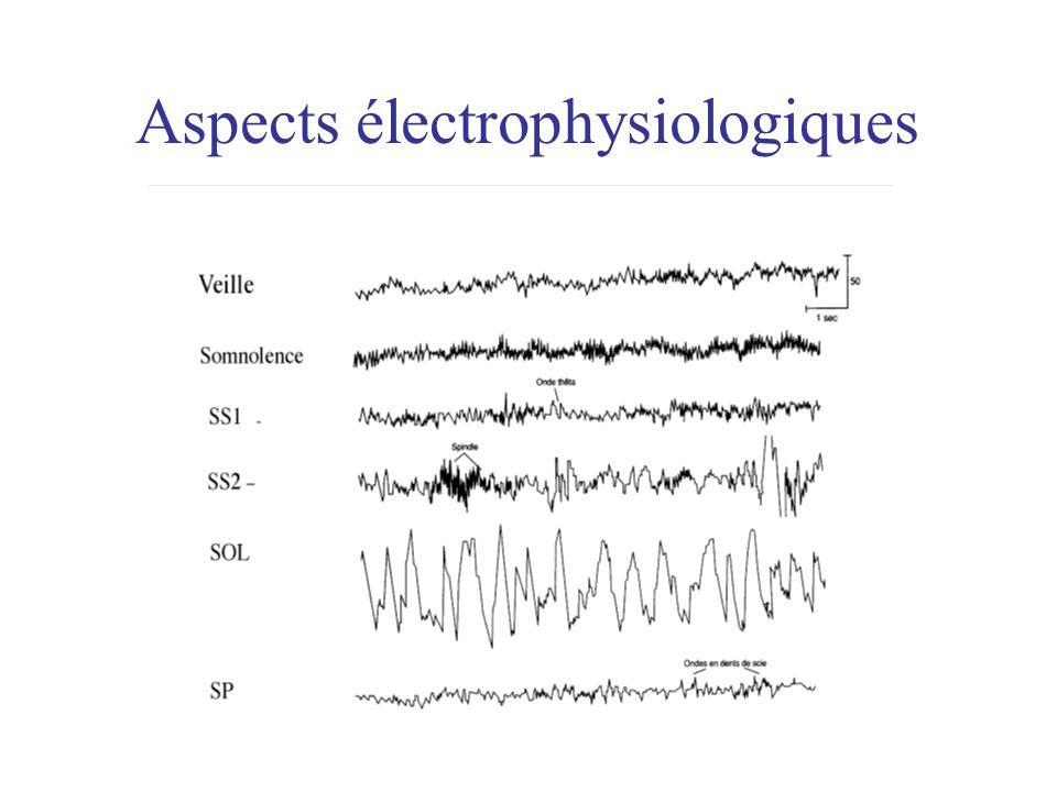 Aspects électrophysiologiques