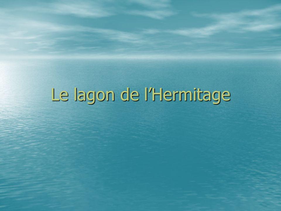 Le lagon de l'Hermitage