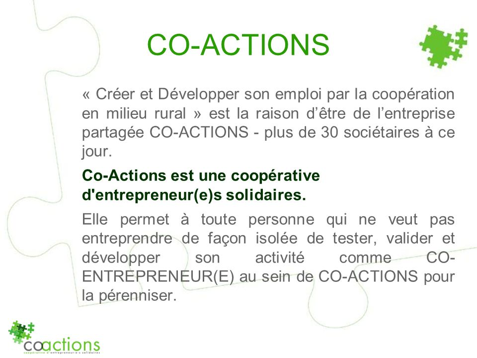 CO-ACTIONS