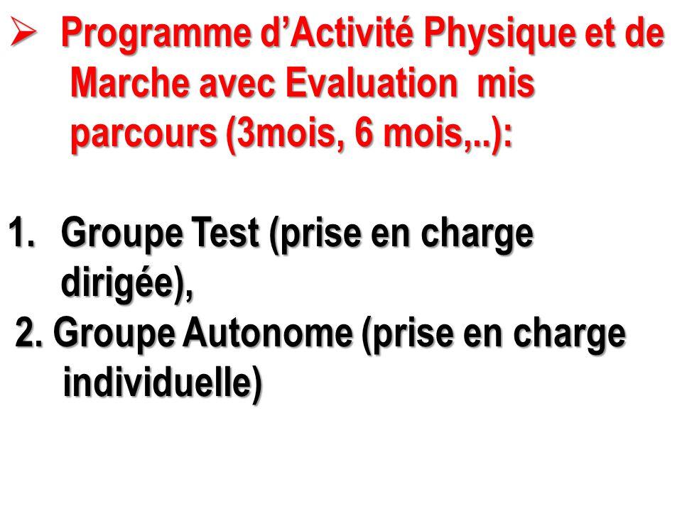 Programme d'Activité Physique et de