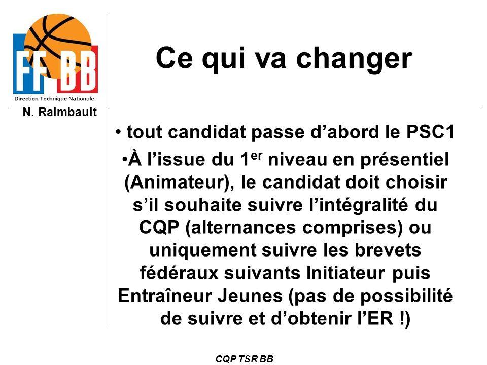 tout candidat passe d'abord le PSC1