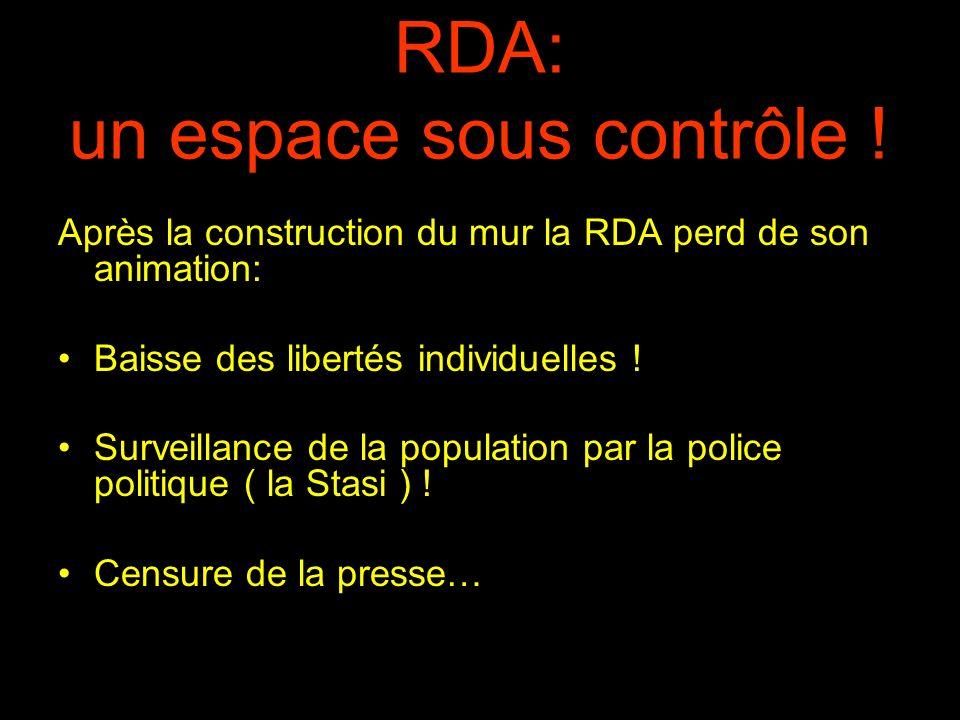 RDA: un espace sous contrôle !