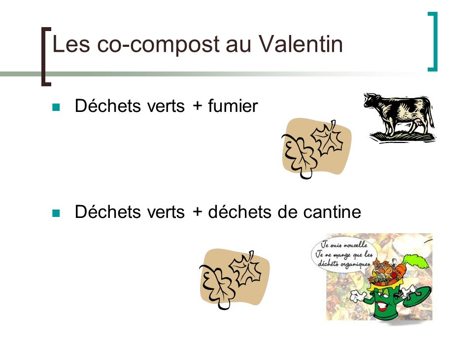 Les co-compost au Valentin
