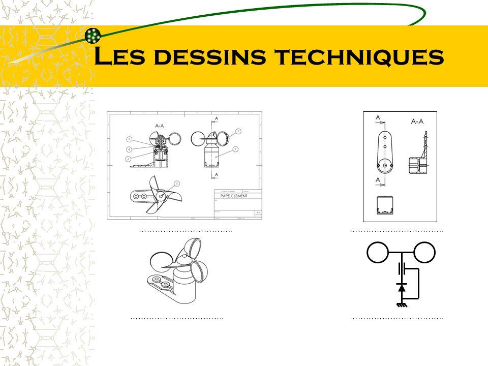 Les dessins techniques