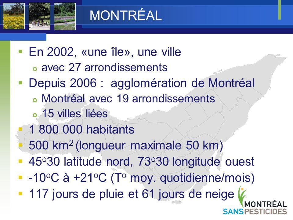 MONTRÉAL En 2002, «une île», une ville