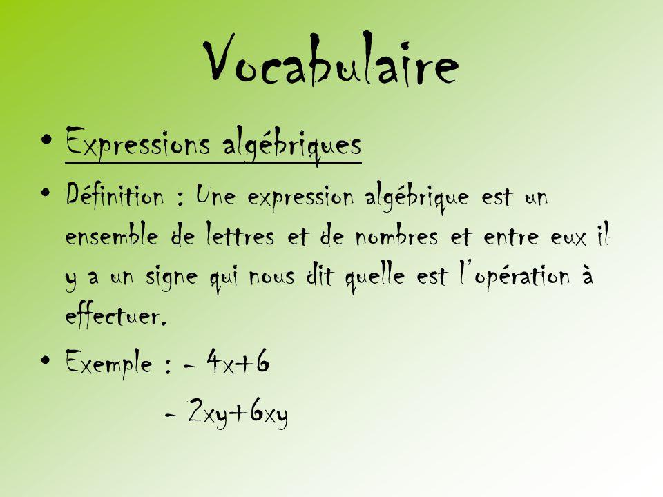 algébrique…
