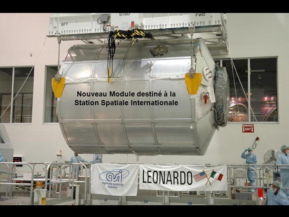 Nouveau Module destiné à la Station Spatiale Internationale
