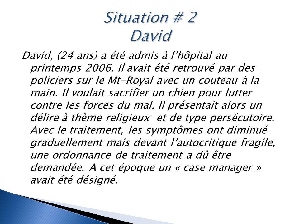 Situation # 2 David