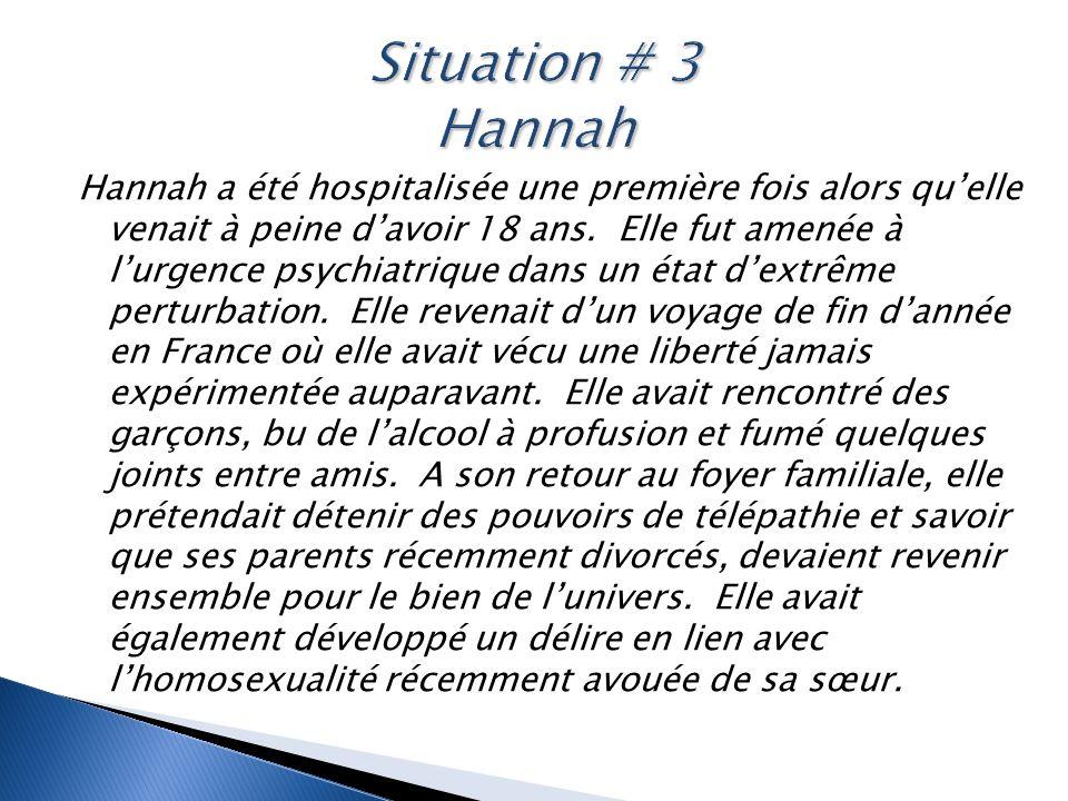 Situation # 3 Hannah