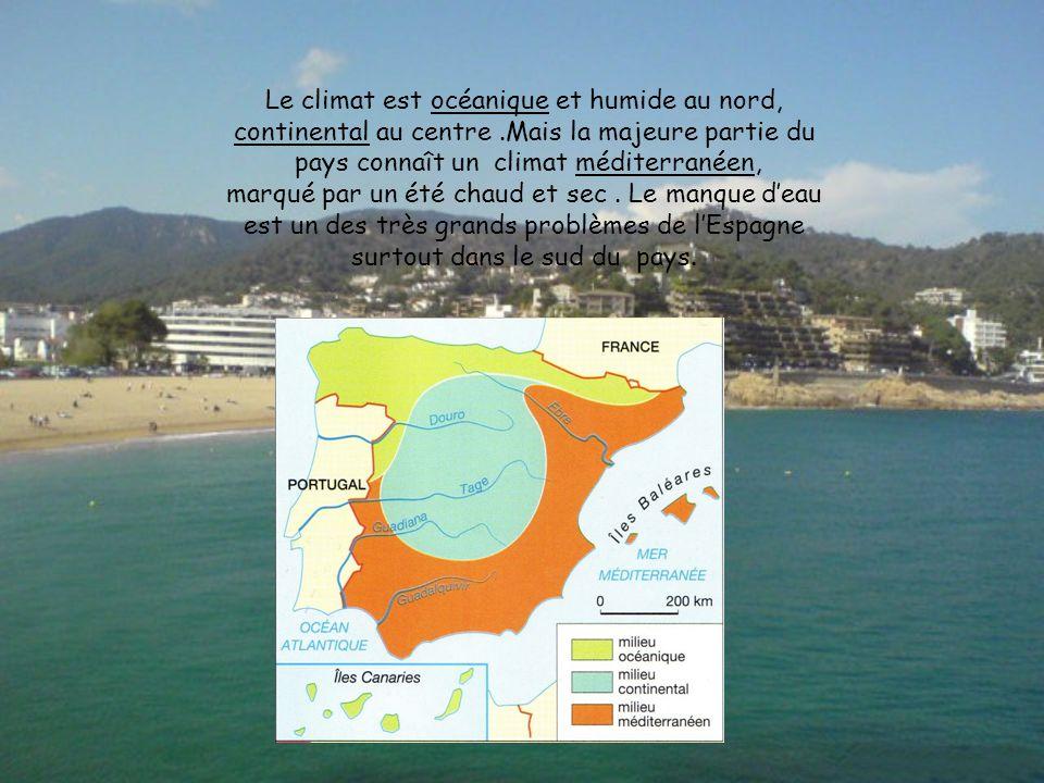 Le climat est océanique et humide au nord,