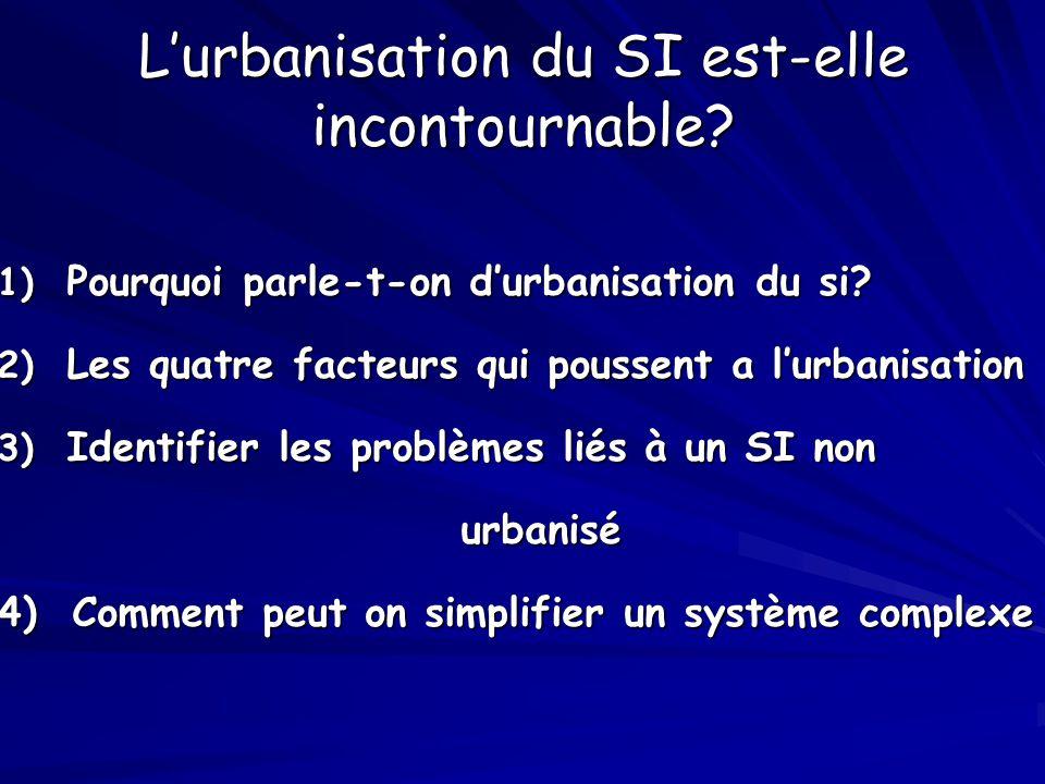 L'urbanisation du SI est-elle incontournable