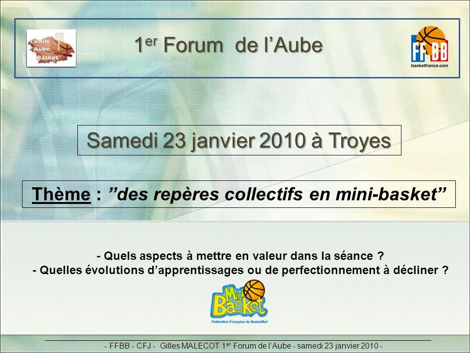 Samedi 23 janvier 2010 à Troyes