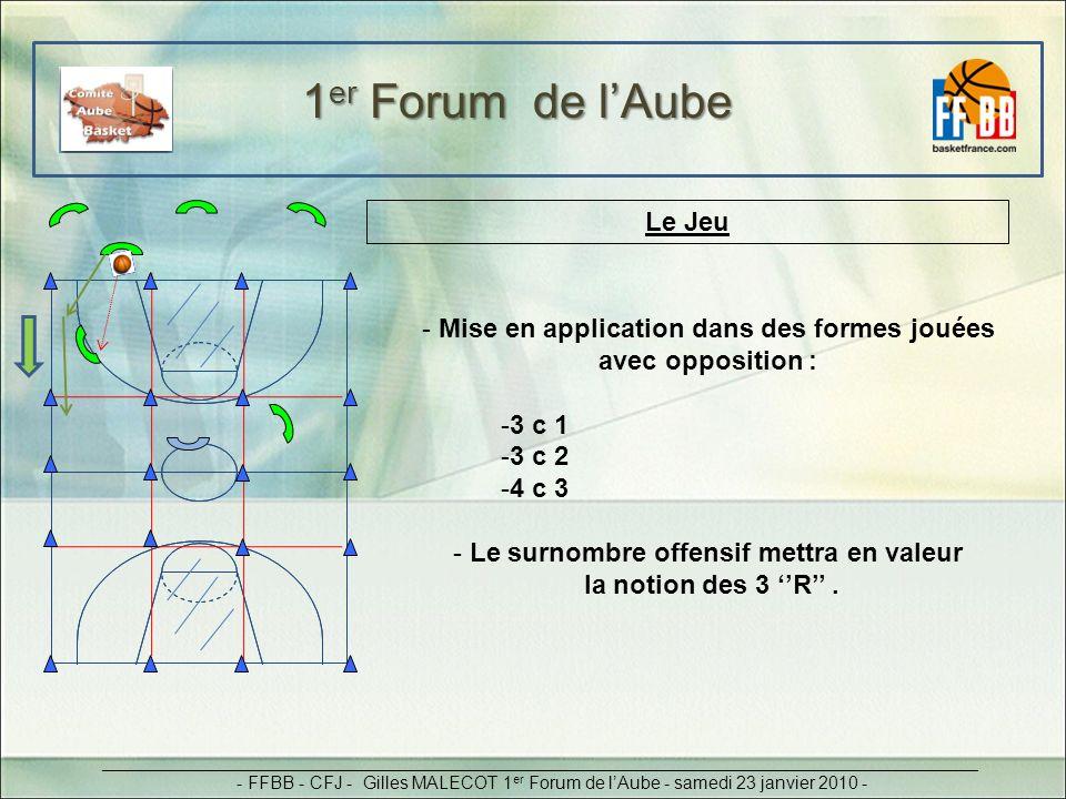 1er Forum de l'Aube Le Jeu