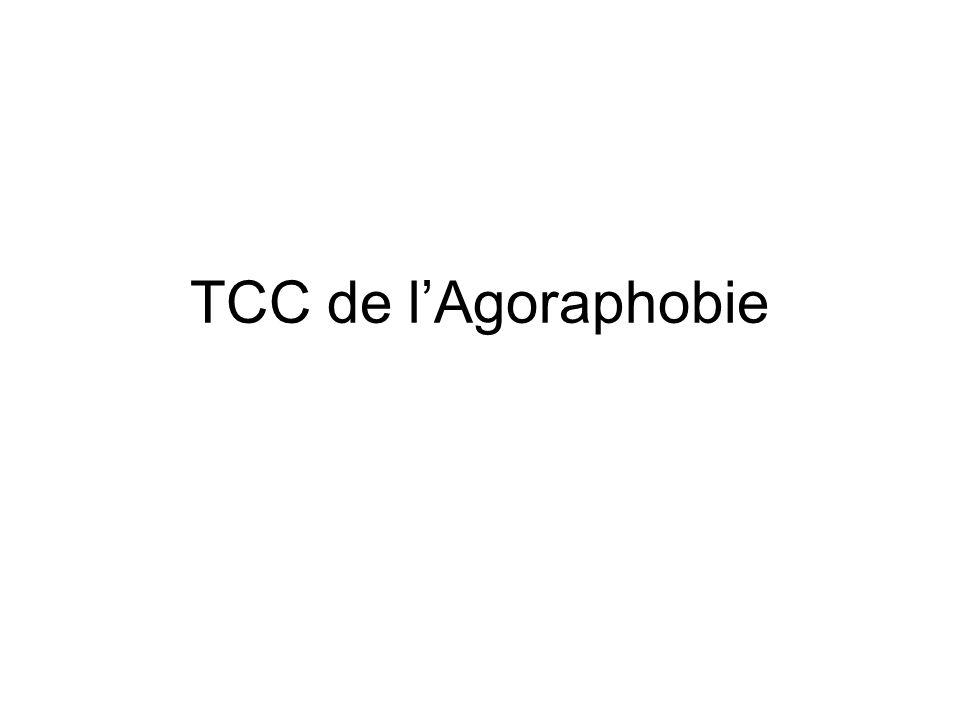 TCC de l'Agoraphobie