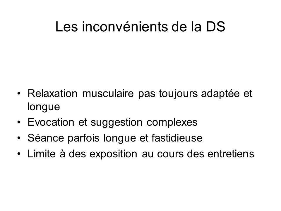 Les inconvénients de la DS