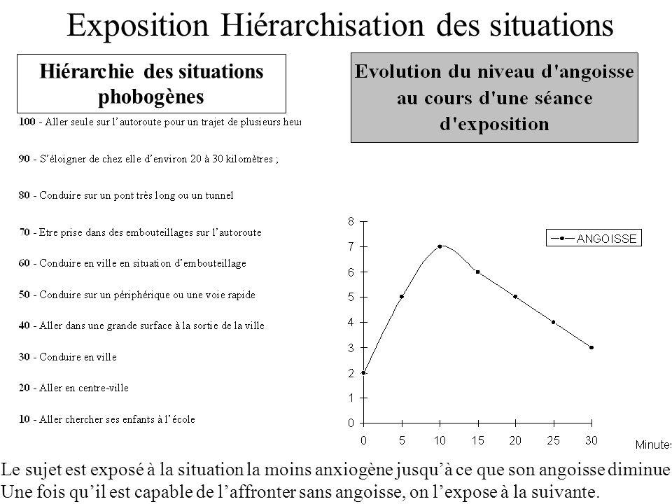 Hiérarchie des situations phobogènes