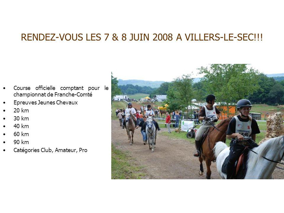 RENDEZ-VOUS LES 7 & 8 JUIN 2008 A VILLERS-LE-SEC!!!