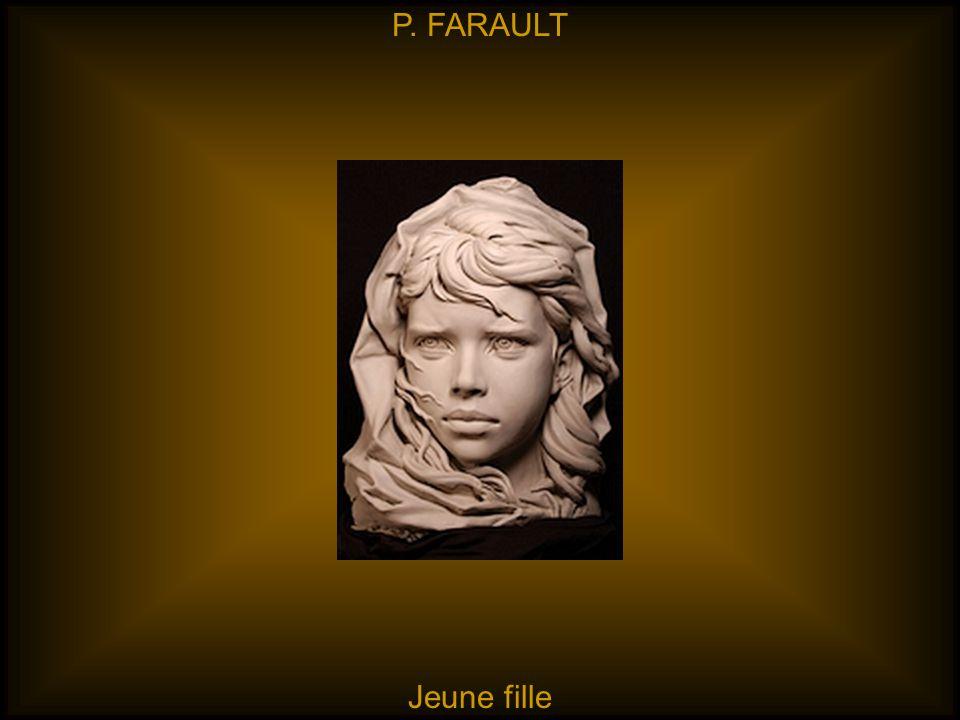 P. FARAULT Jeune fille