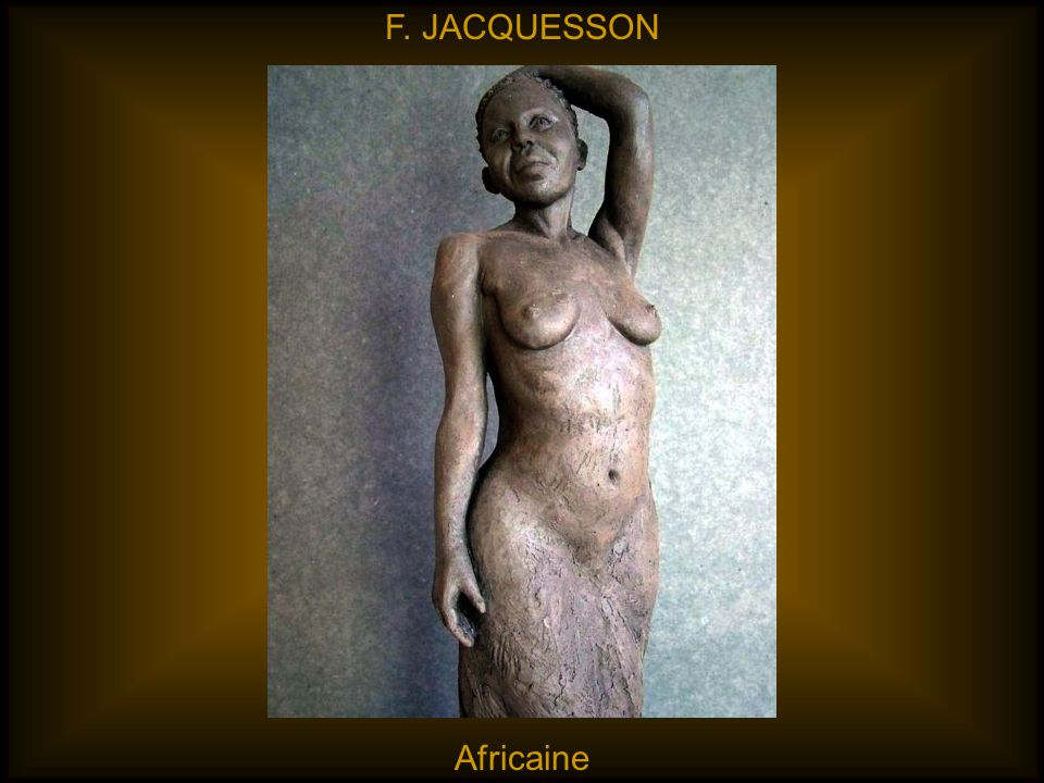 F. JACQUESSON Africaine