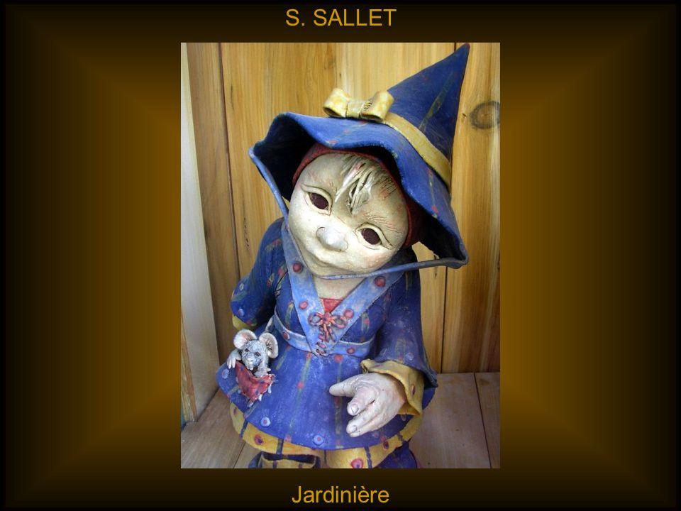S. SALLET Jardinière