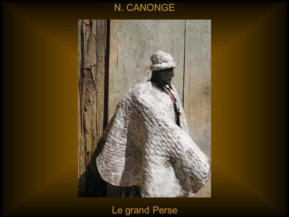 N. CANONGE Le grand Perse