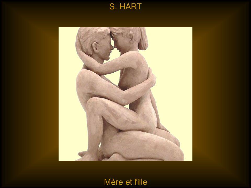 S. HART Mère et fille